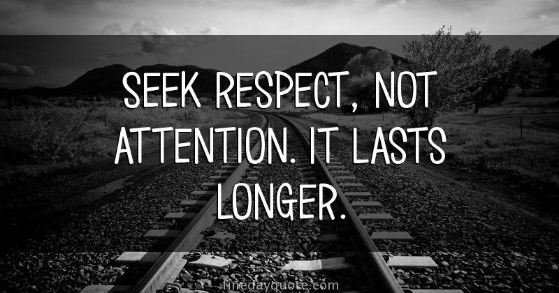 who i respect respect essay